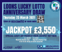 Loons Lucky Lotto Anniversary Draw