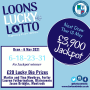 Loons Lucky Lotto - Thursday 6 May 2021