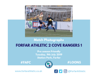 Match Photographs: Forfar Athletic 2 Cove Rangers 1