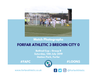 Match Photographs: Forfar Athletic 3 Brechin City 0