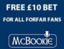 McBookie Odds: Forfar Athletic v Airdrieonians