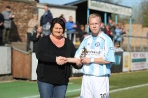 YSB Player of the Year - Nicky Low