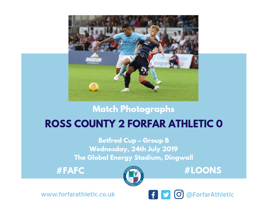 2019 07 24 Ross County 2 Forfar Athletic 0